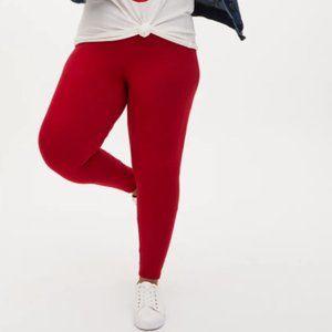 Torrid Premium Legging in Red Size 1 (1XL / 14-16)